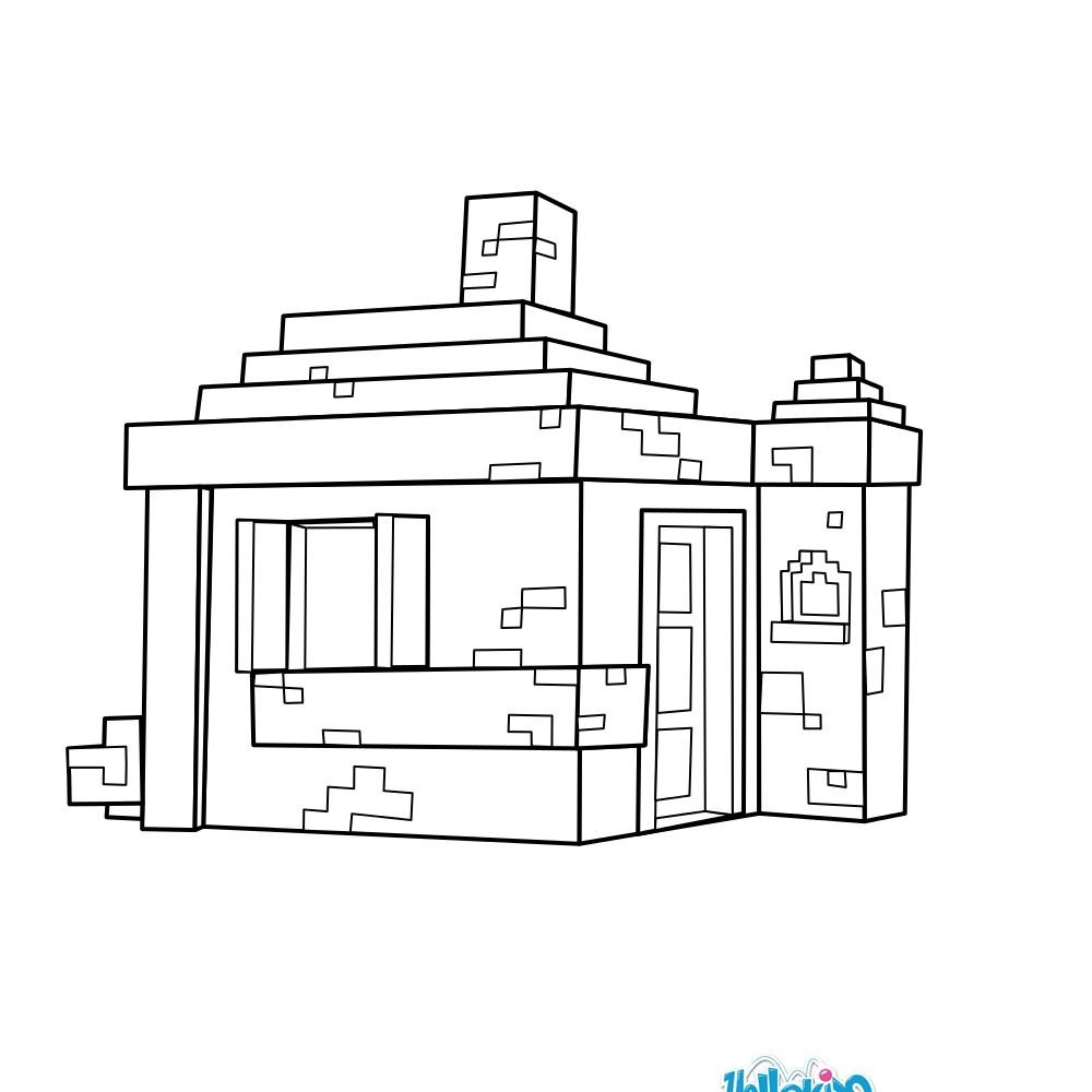 minecraft mansion coloring pages free download minecraft cow with house coloring page minecraft mansion coloring pages