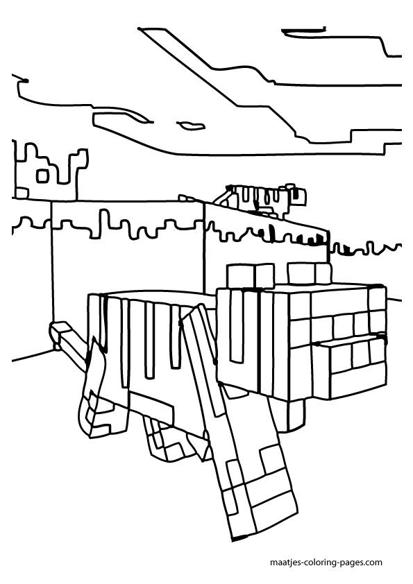 minecraft mansion coloring pages haunted houses with many ghost coloring page color luna pages coloring mansion minecraft