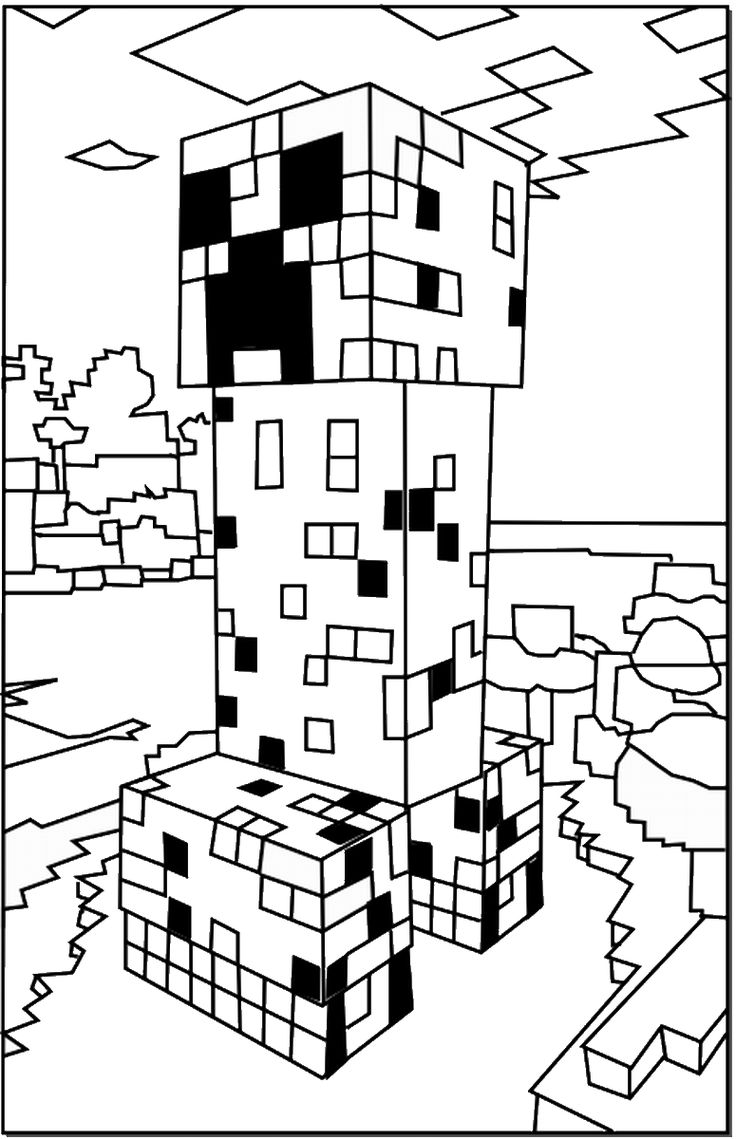 minecraft mansion coloring pages minecraft house coloring pages at getcoloringscom free mansion minecraft pages coloring