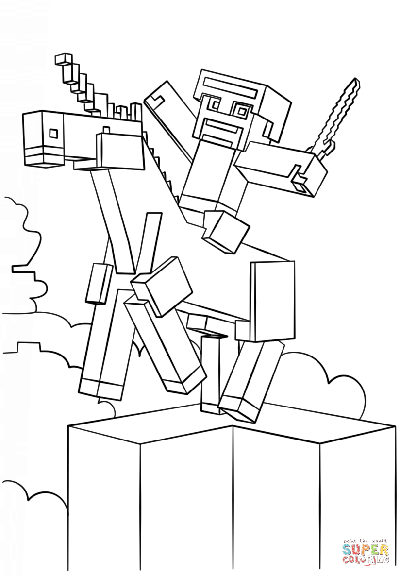minecraft printouts minecraft coloring pages birthday printable printouts minecraft