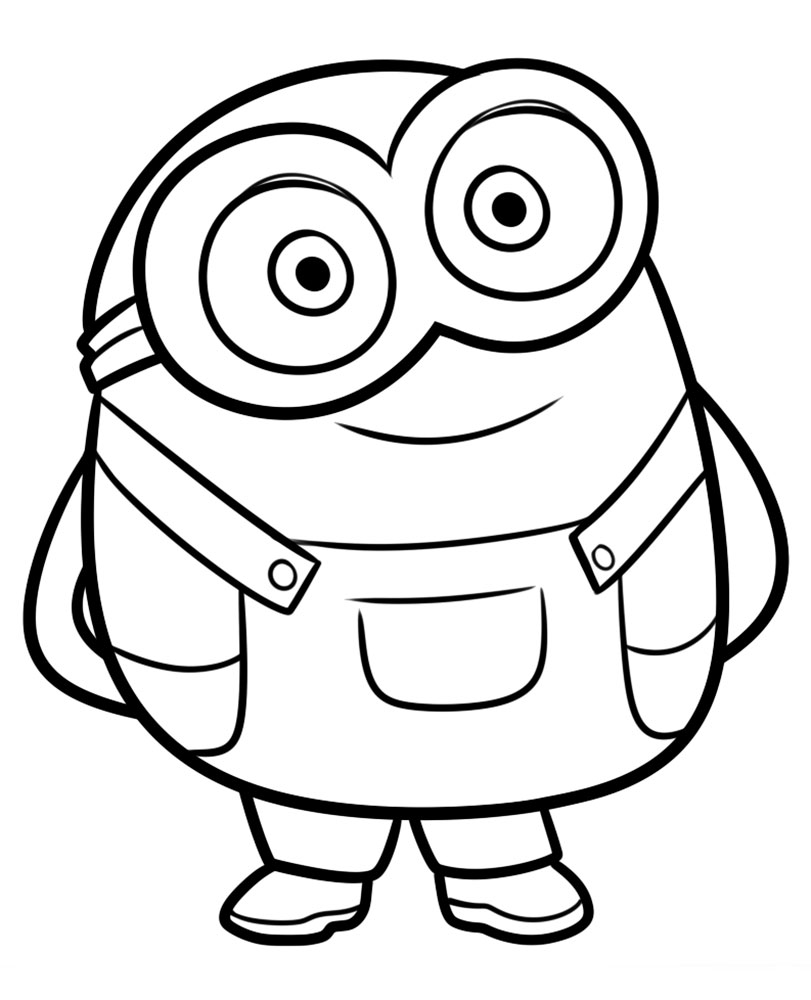 minion coloring book minion coloring pages kevin at getcoloringscom free book minion coloring