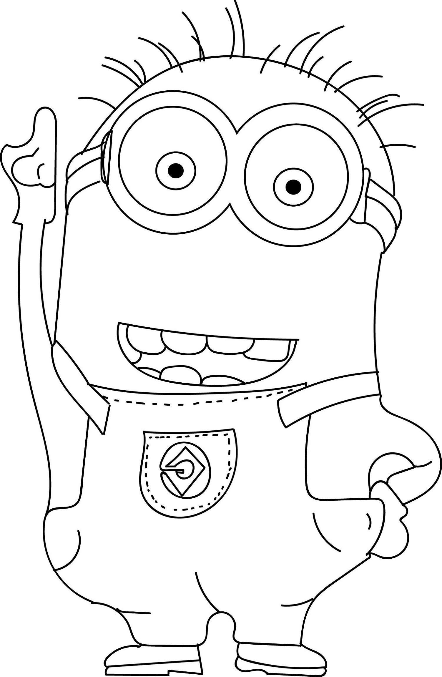 minion coloring book minion coloring pages kevin at getcoloringscom free coloring minion book