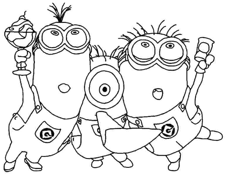 minion coloring book minion coloring pages to print out at getcoloringscom book minion coloring