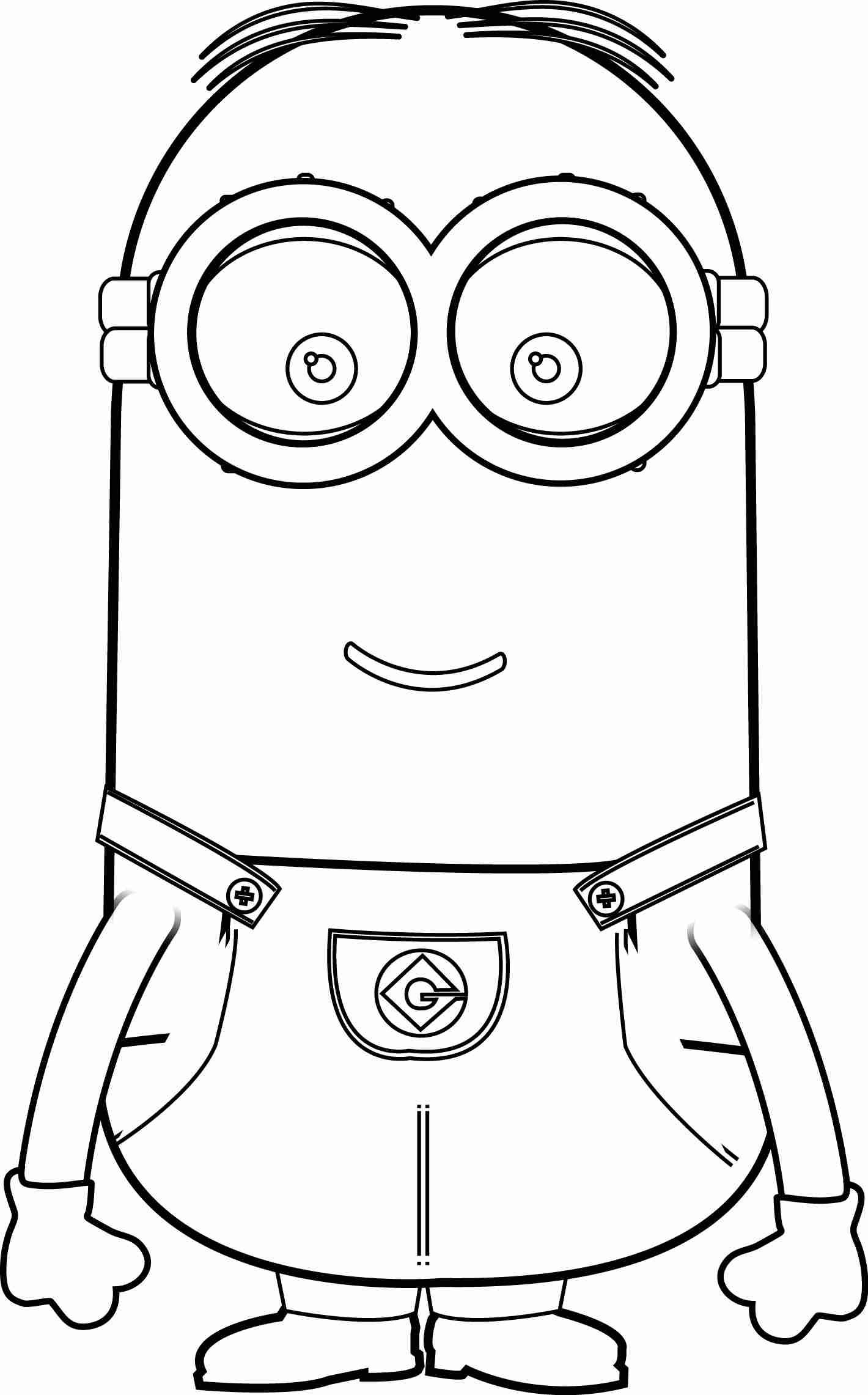 minion coloring book minion drawing for kids at paintingvalleycom explore coloring book minion
