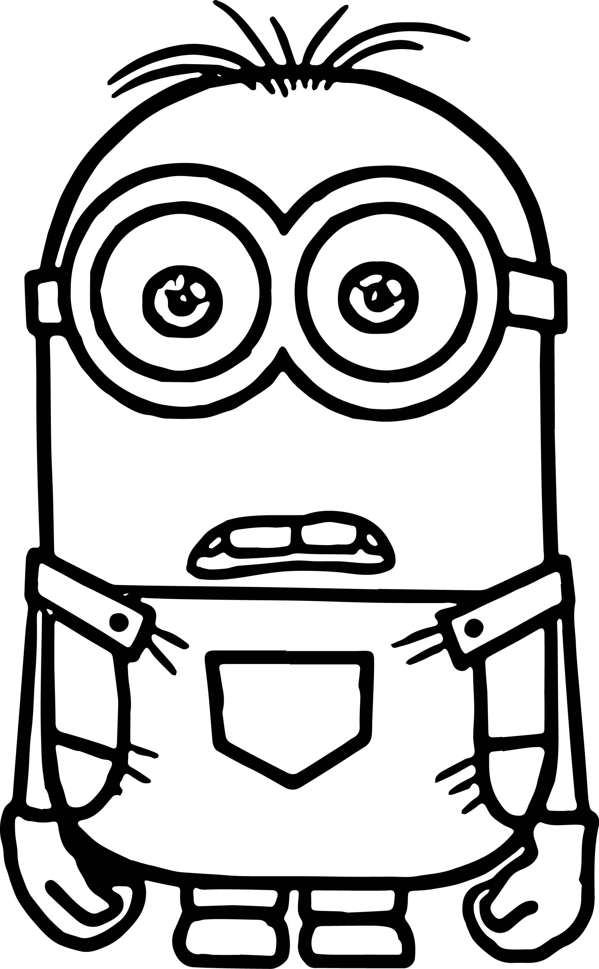 minion coloring cute minion coloring pages at getcoloringscom free minion coloring