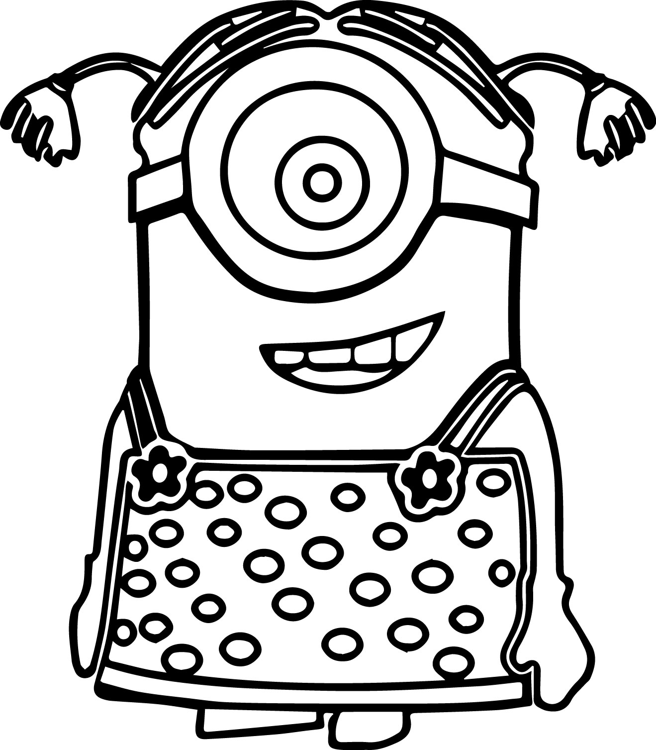 minion coloring free coloring pages printable pictures to color kids minion coloring