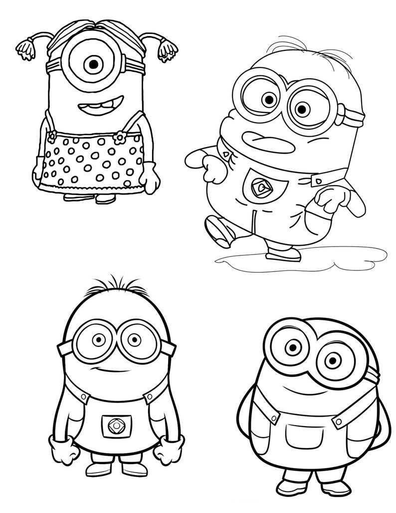 minion coloring minion clipart color 20 free cliparts download images on coloring minion 1 1