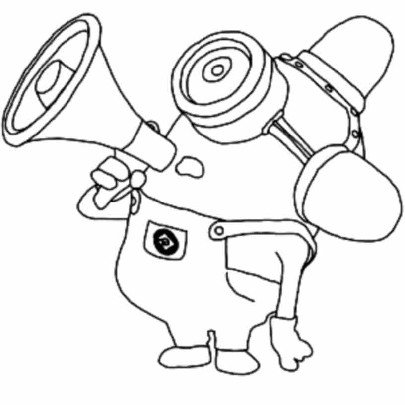 minion coloring purple minion drawing at getdrawings free download minion coloring
