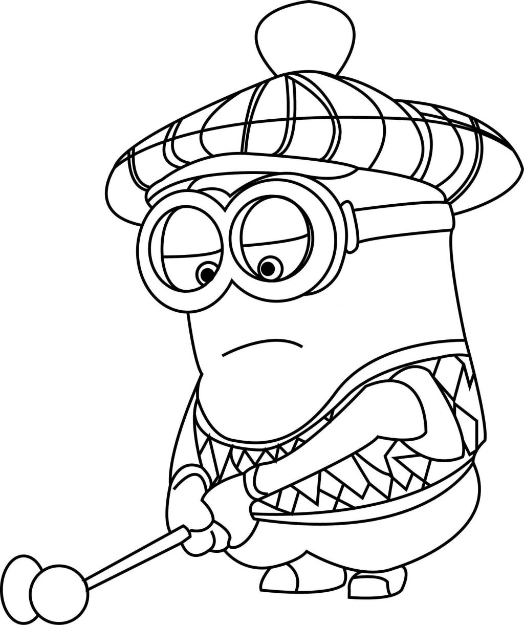 minions drawing minion drawing template at getdrawings free download drawing minions