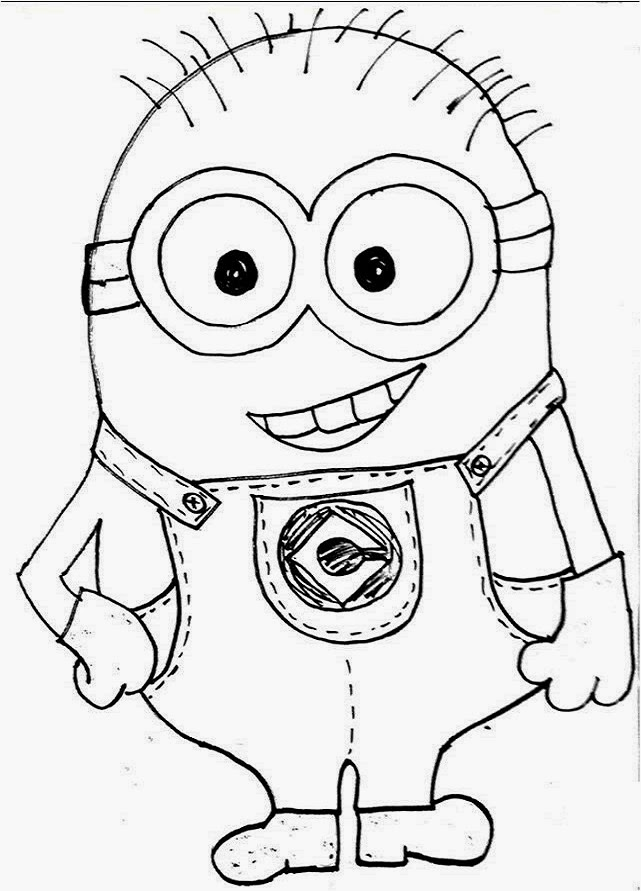 minions drawing simple minion drawing at getdrawings free download minions drawing