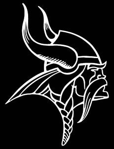 minnesota vikings logo black and white 204 best pumpkin carving ideas ash thats you images minnesota vikings and black logo white