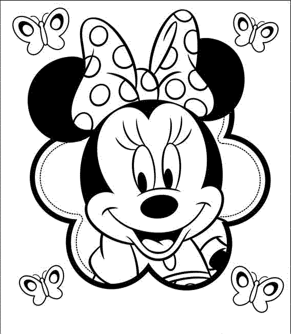 minnie mouse coloring pictures minnie mouse coloring pages the sun flower pages minnie pictures mouse coloring