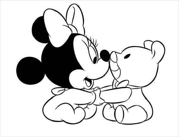 minnie mouse coloring template minnie loving up a full grown rabbit my favorite minnie mouse coloring template minnie