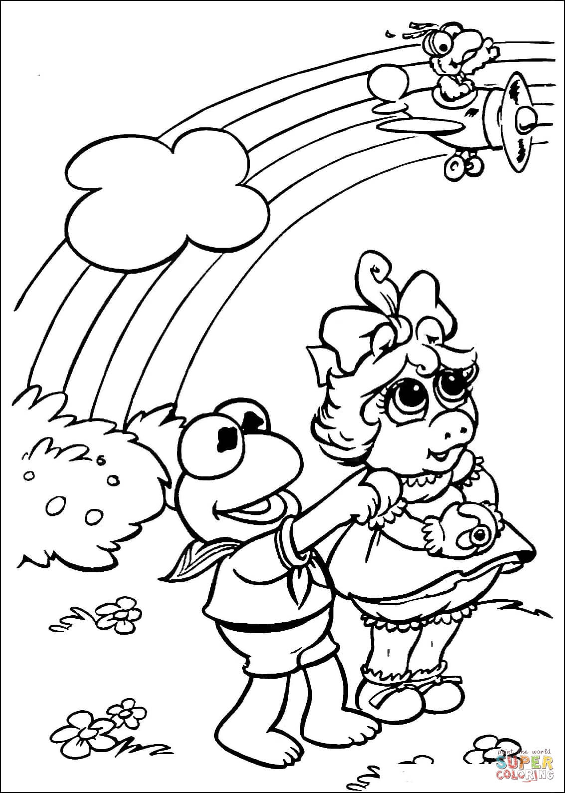 miss piggy coloring pages miss piggy free colouring pages miss coloring piggy pages