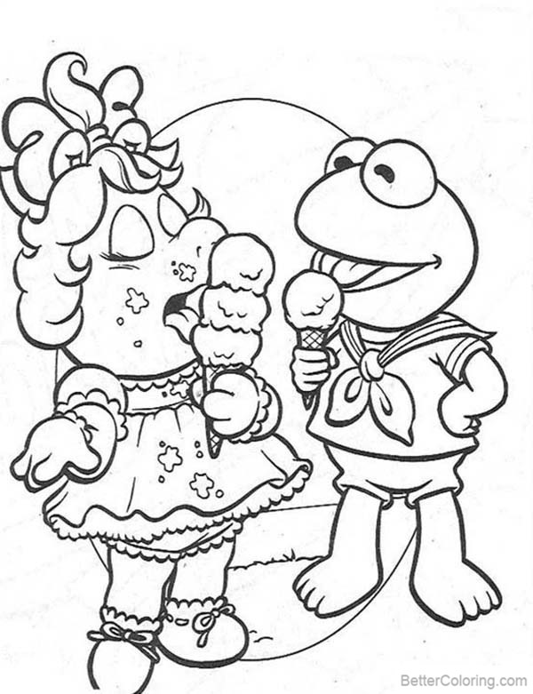 miss piggy coloring pages miss piggy from the muppets coloring page free printable coloring pages miss piggy