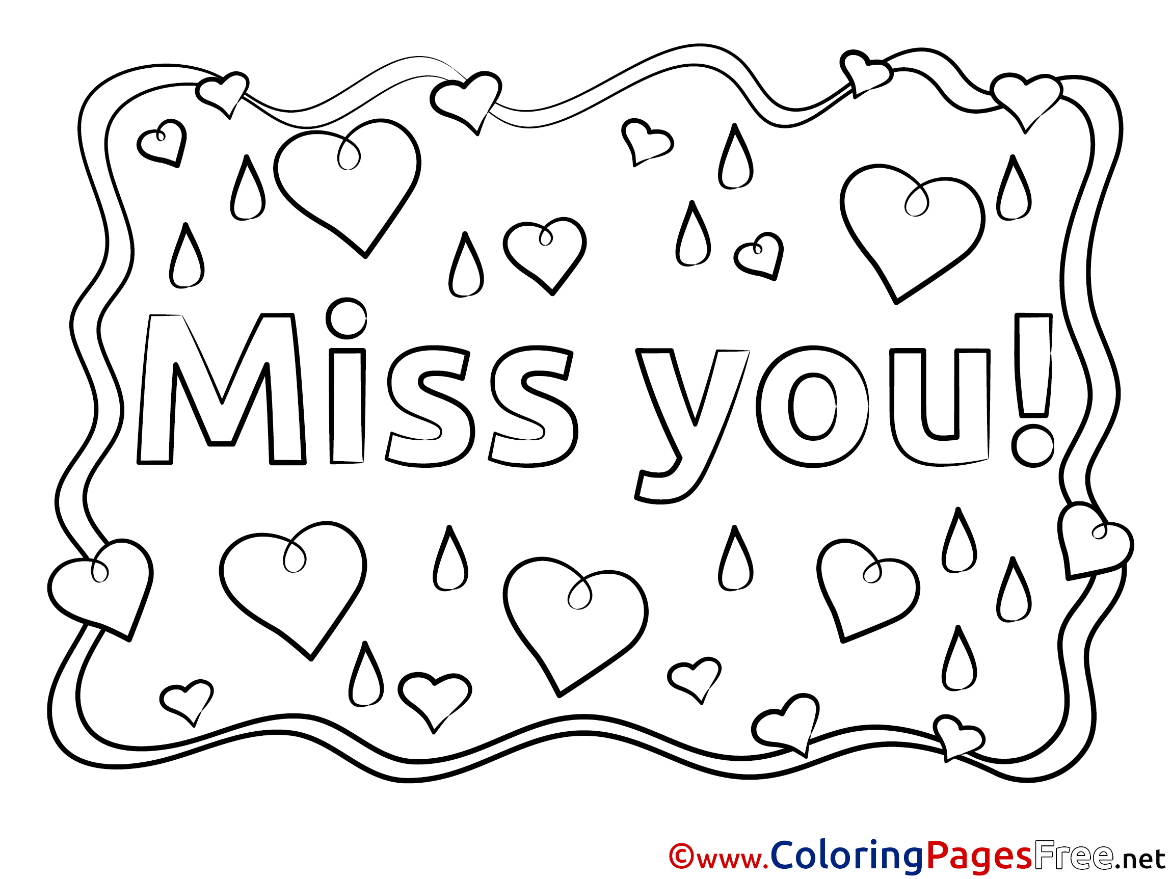 miss you coloring pages i will miss you coloring page twisty noodle you miss coloring pages