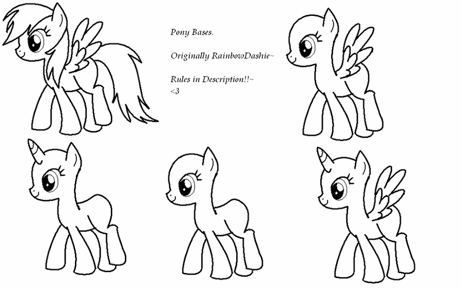 mlp coloring base ailcorn mlp base coloring page coloring pages coloring base mlp