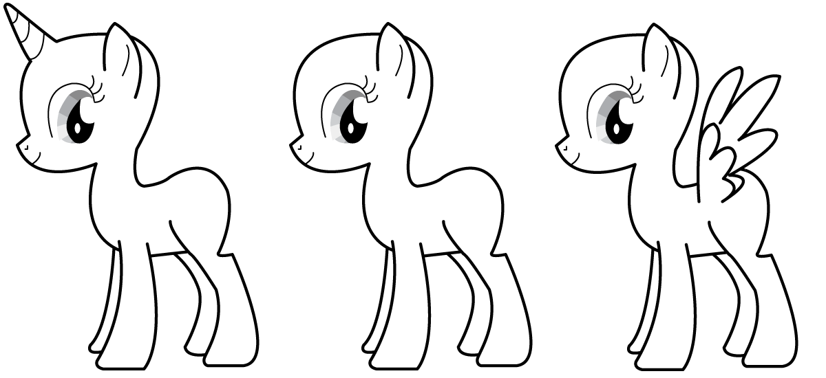 mlp coloring base mlp base alicorn coloring pages my little pony drawing mlp coloring base