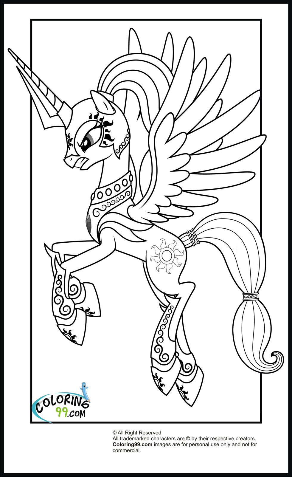 mlp coloring page little pony coloring pages free download on clipartmag coloring mlp page