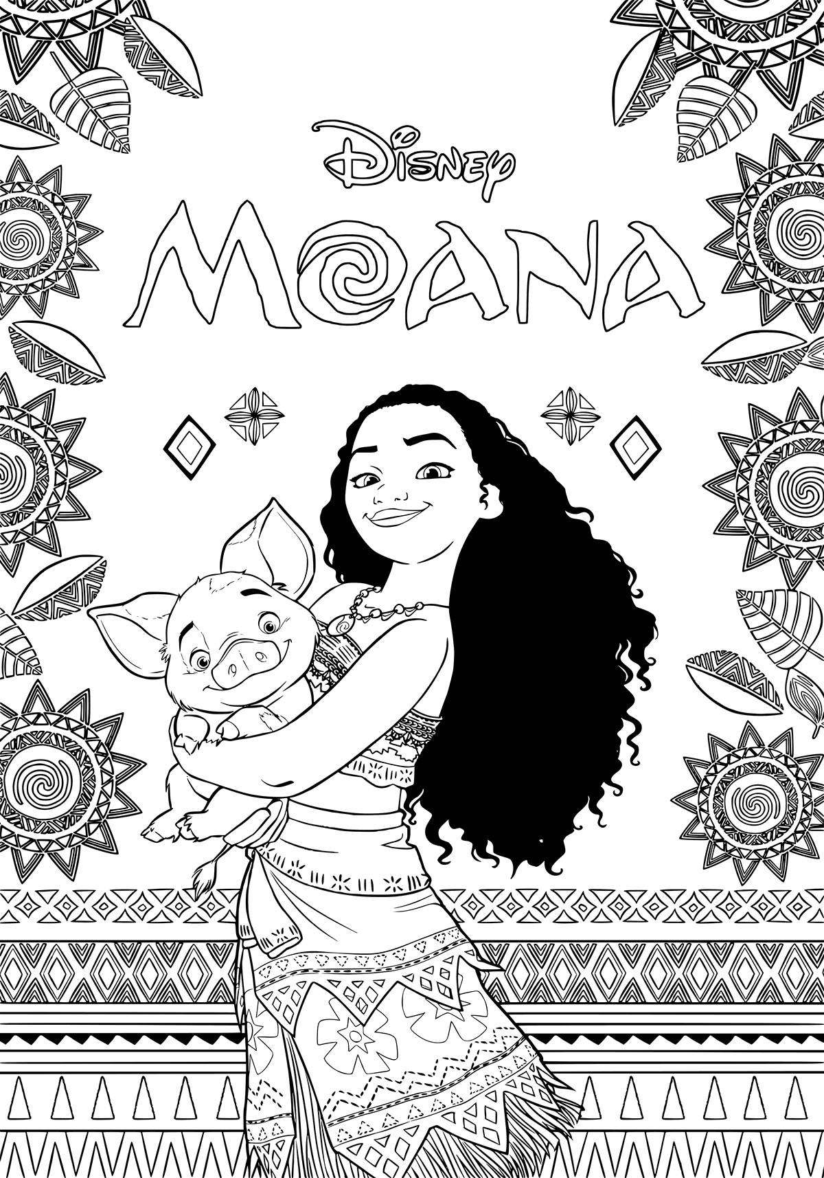 moana coloring pages moana for children moana kids coloring pages pages coloring moana