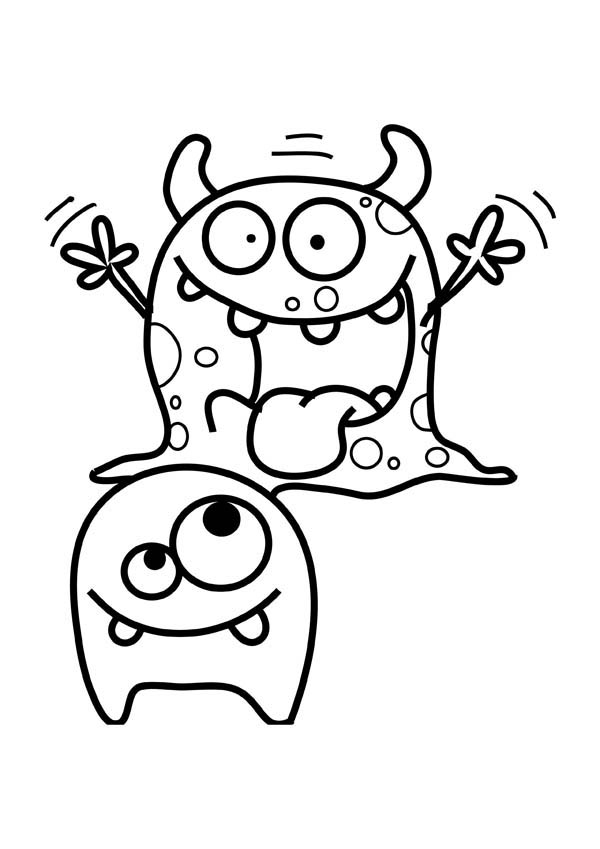 monster coloring sheets monsters inc coloring pages mike at getdrawings free sheets coloring monster