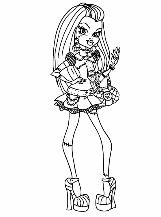 monster high coloring pages frankie monster high frankie stein beautiful coloring pages high coloring frankie pages monster