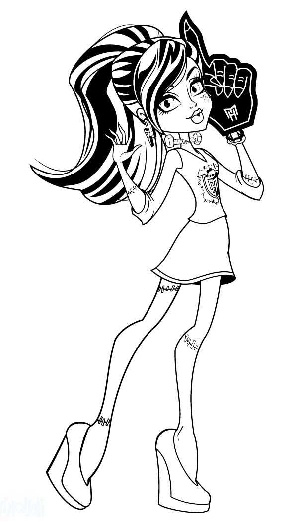 monster high coloring pages frankie monster high frankie stein thirst coloring monster high frankie coloring high pages monster