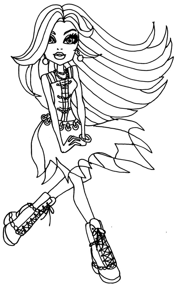 monster high coloring pages frankie monster high para colorir frankie frankie monster high frankie monster pages high coloring
