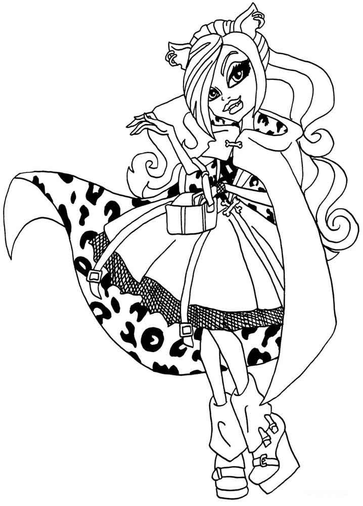 monster high coloring picture coloring pages monster high coloring pages free and printable picture coloring high monster 1 1