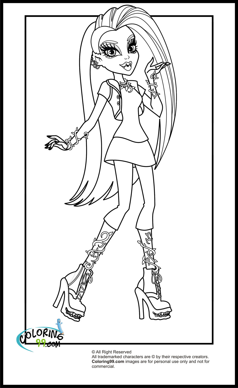 monster high coloring picture monster high coloring pages baby bestappsforkidscom picture coloring high monster