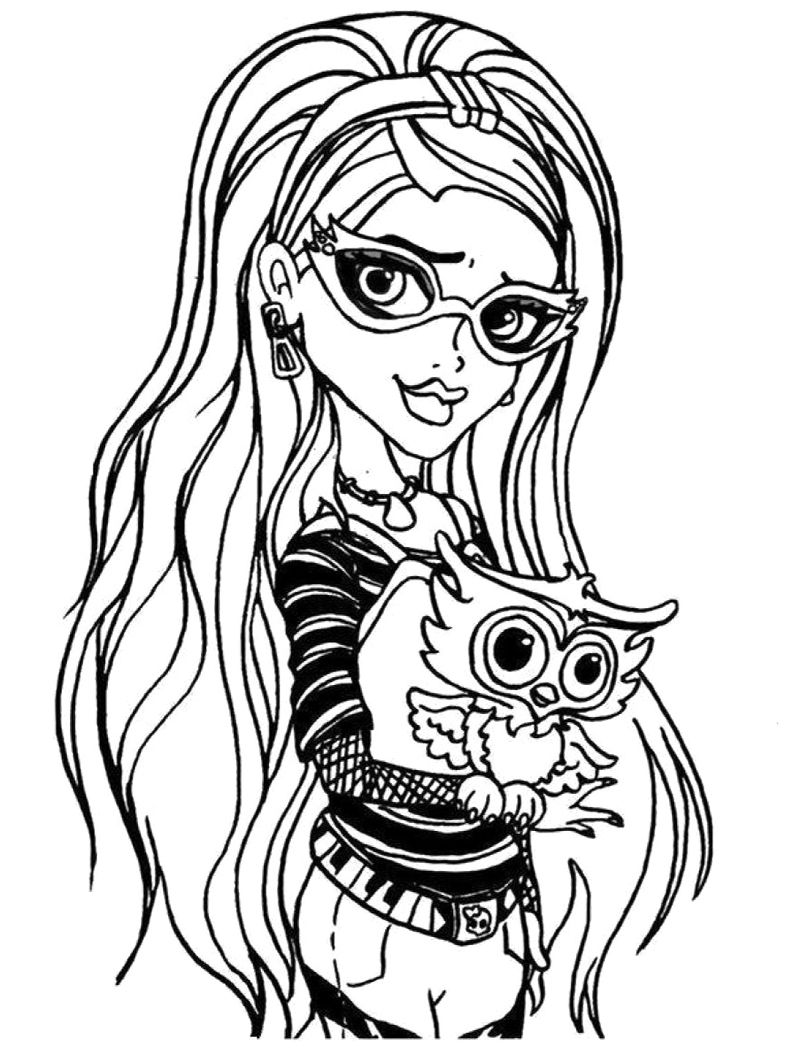 monster high coloring picture monster high to print monster high kids coloring pages monster picture coloring high