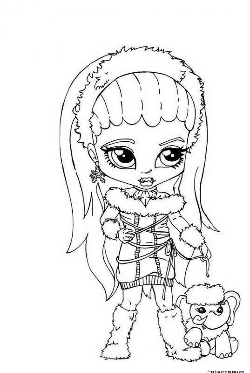 monster high free printable coloring pages cartoon meowlody coloring page free printable coloring pages printable monster high coloring free pages