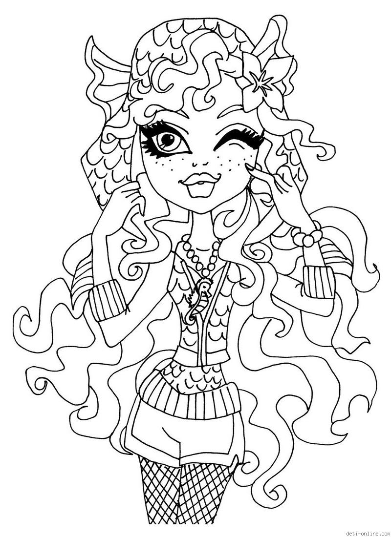 monster high free printable coloring pages free printable monster high coloring pages for kids printable pages monster free high coloring