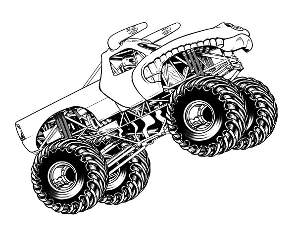 monster truck coloring page monster truck transportation printable coloring pages coloring truck page monster
