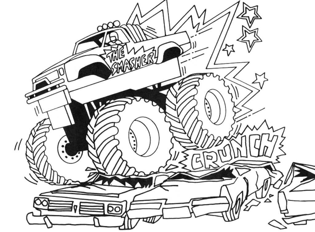 monster truck coloring pages for kids free printable monster jam coloring pages coloring home coloring pages truck for monster kids