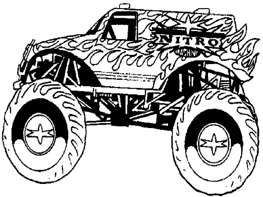 monster truck coloring pages for kids free printable monster truck coloring pages for kids coloring truck pages kids for monster