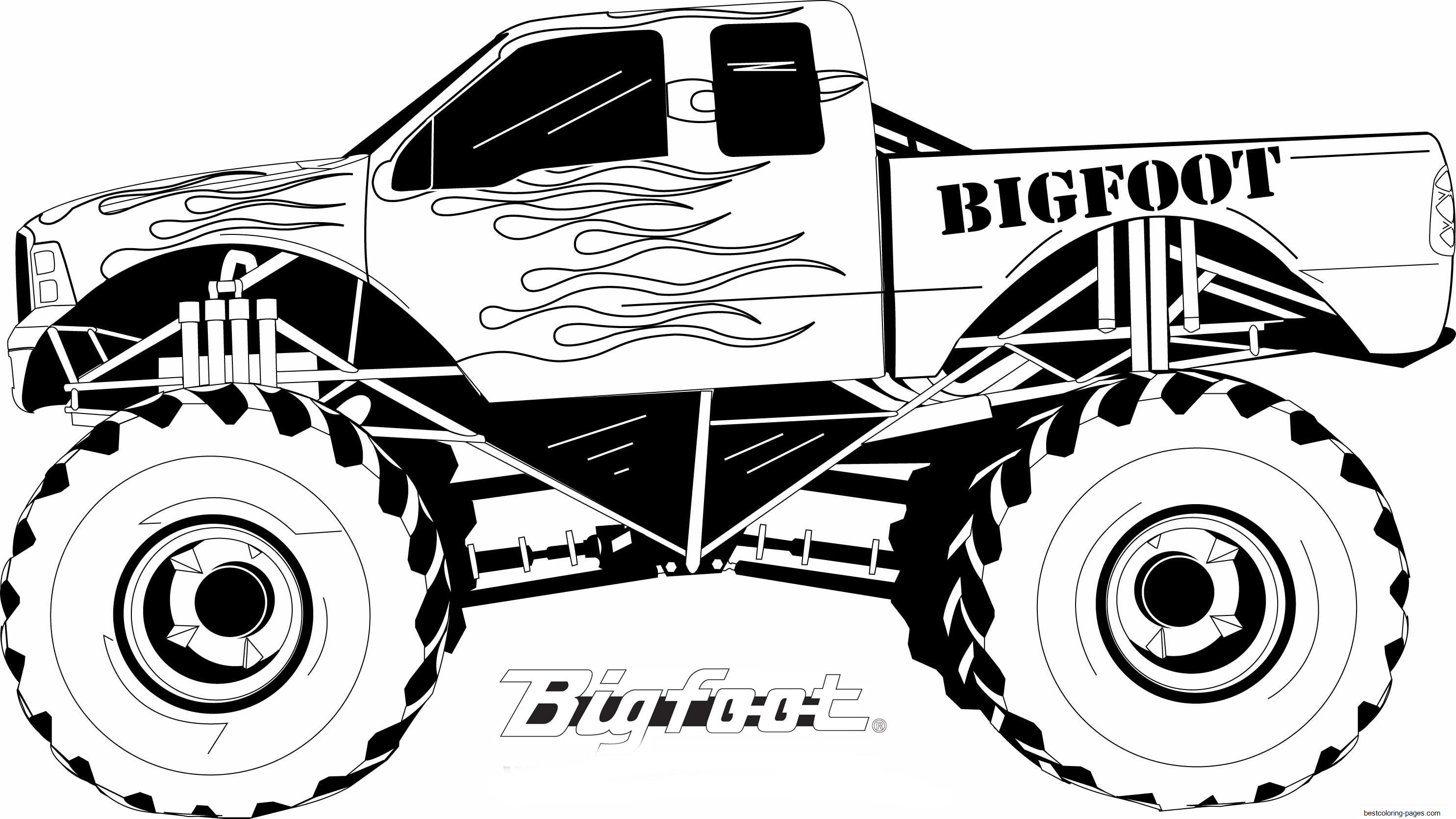monster truck coloring pages for kids monster truck coloring pages for boys free coloring pages for kids pages truck coloring monster