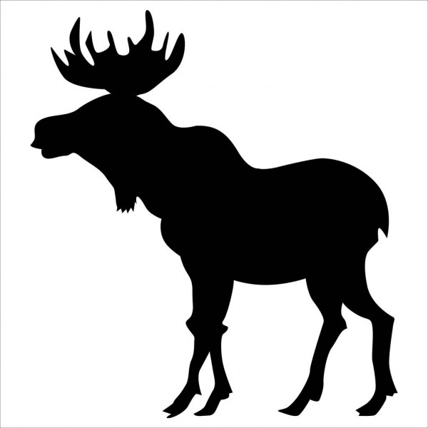 moose silhouette moose stock photos illustrations and vector art silhouette moose