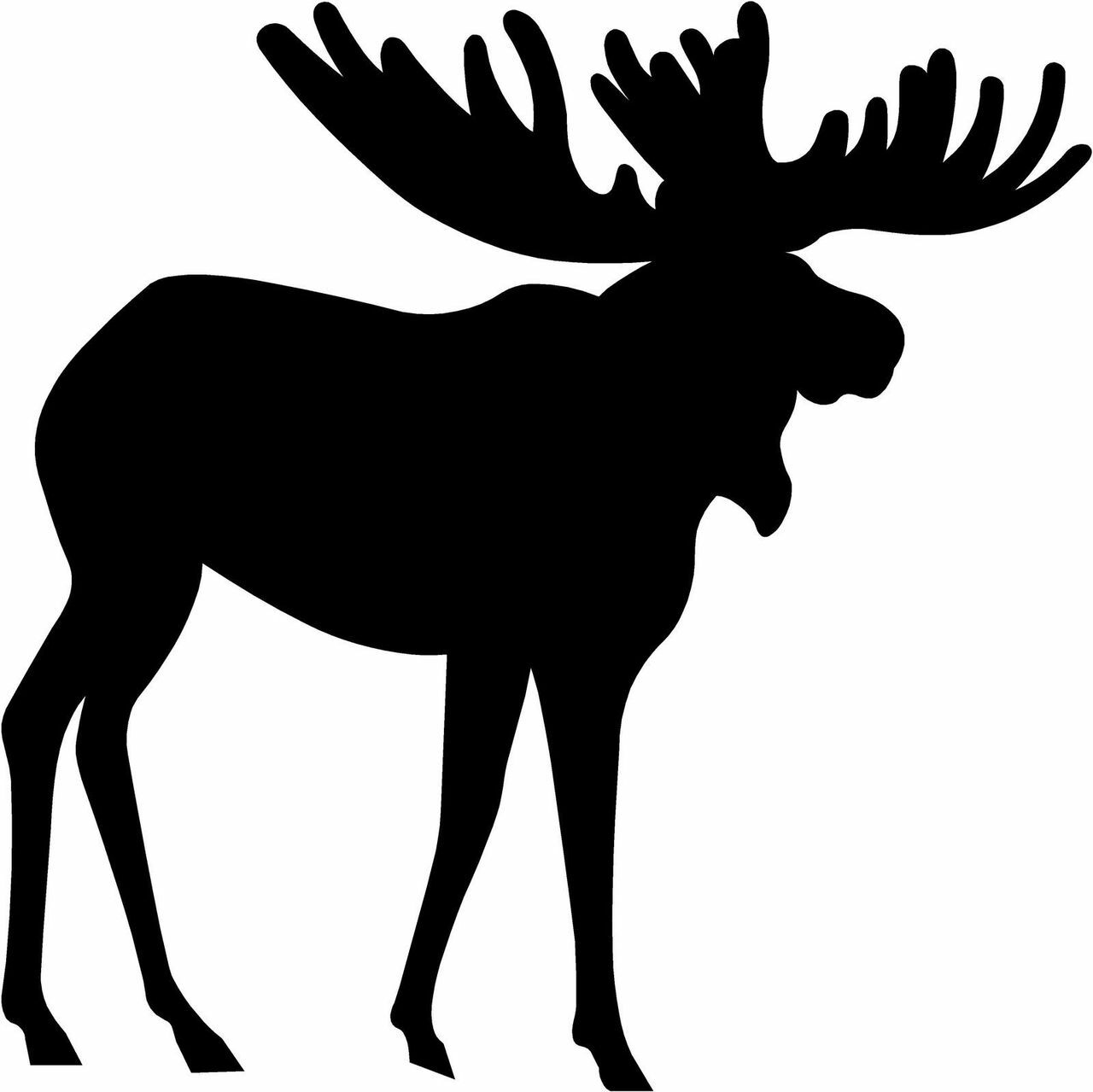 moose silhouette quotmoose silhouettequot by collins11 redbubble silhouette moose