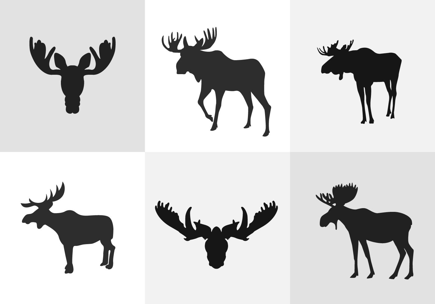 moose silhouette silhouette of moose stock vector perysty 3129902 silhouette moose