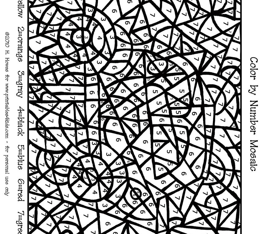 mosaic pictures to colour get this printable mosaic coloring pages online 32651 to pictures colour mosaic