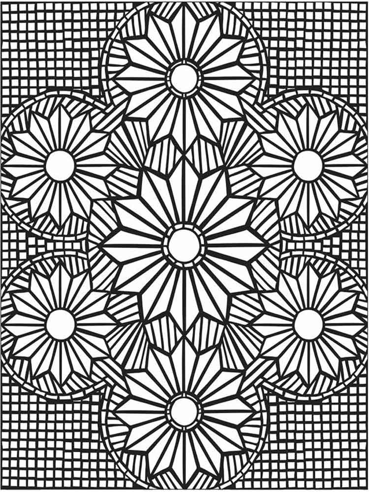 mosaic pictures to colour mosaic coloring pages for adults coloring home mosaic to pictures colour
