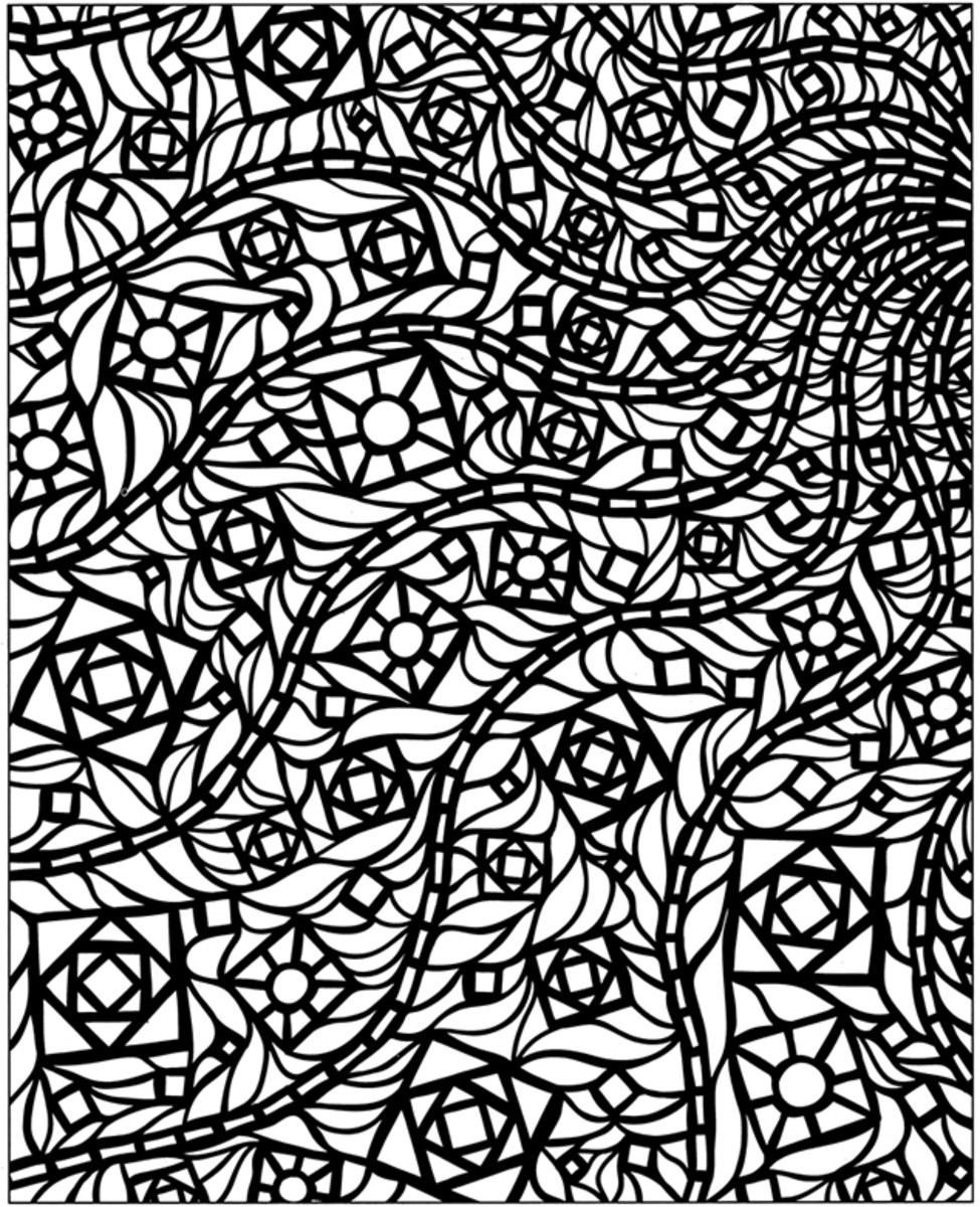 mosaic pictures to colour mosaic coloring pages for adults coloring home pictures to mosaic colour