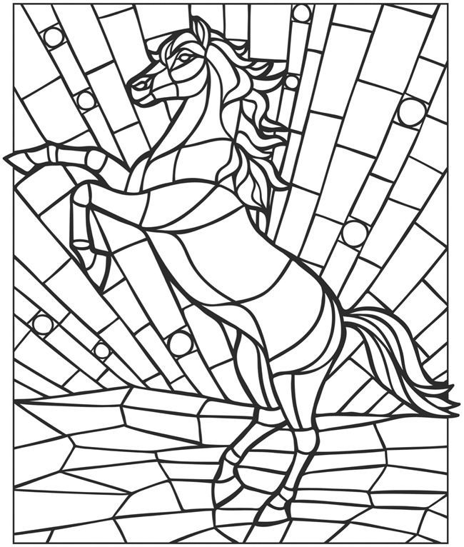 mosaics coloring pages creative haven animal mosaics coloring book animal mosaics coloring pages