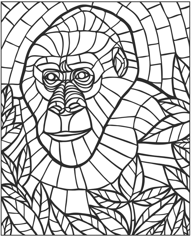 mosaics coloring pages floral mosaic coloring page download print online mosaics pages coloring