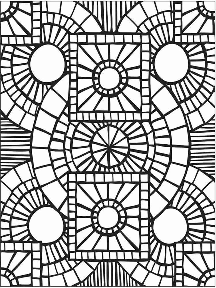 mosaics coloring pages mosaic coloring pages for adults free printable mosaic coloring pages mosaics
