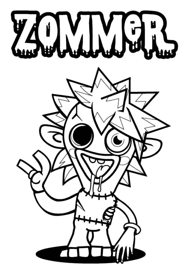 moshi monster coloring pages fun with free moshi monsters colouring pages hubpages coloring pages moshi monster