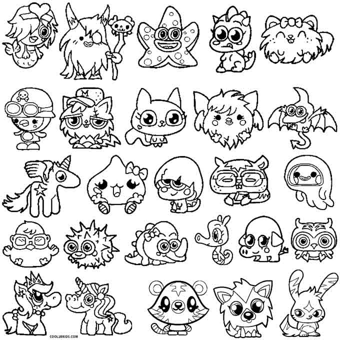 moshi monster coloring pages printable moshi monsters coloring pages for kids cool2bkids moshi coloring monster pages