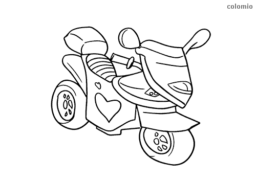 motorbike pitchers free printable motorcycle coloring pages for kids cool2bkids motorbike pitchers 1 1