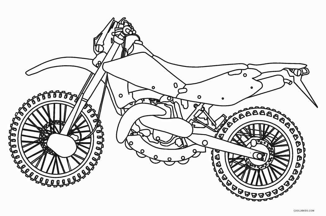 motorbike pitchers free printable motorcycle coloring pages for kids motorbike pitchers